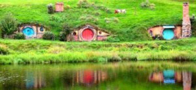 Hobbiton's Hobbit Holes