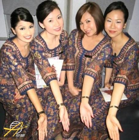 Singapore Airlines cabin crew
