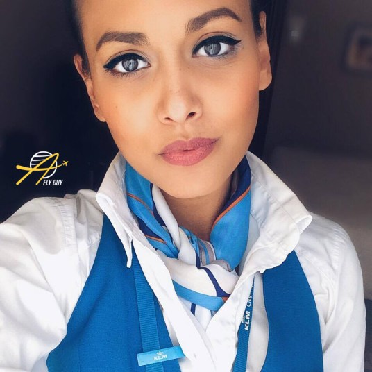 KLM Royal Dutch Airlines cabin crew