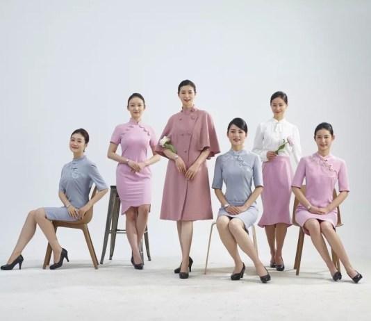 Juneyao Air new uniform