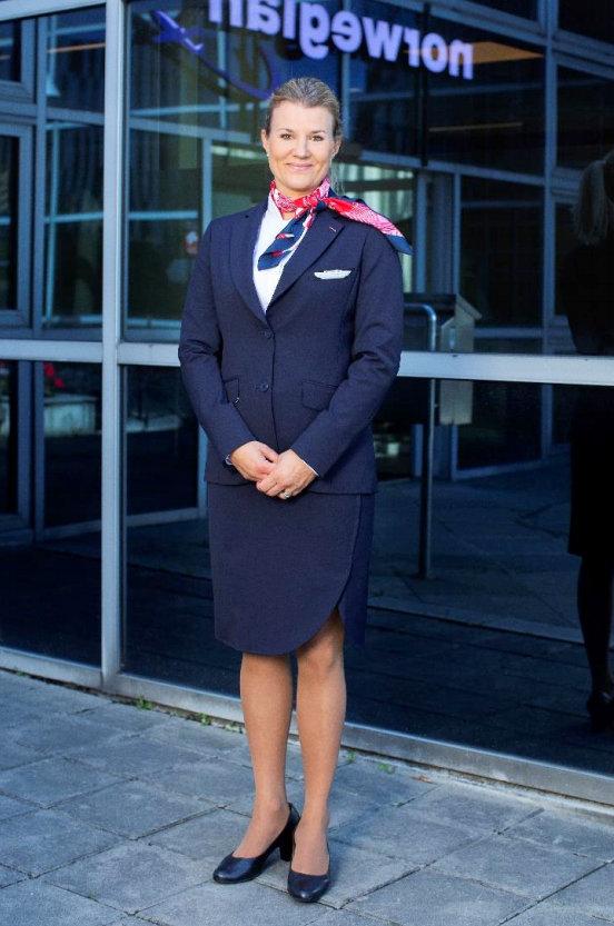 Norwegian Air New Female Uniform