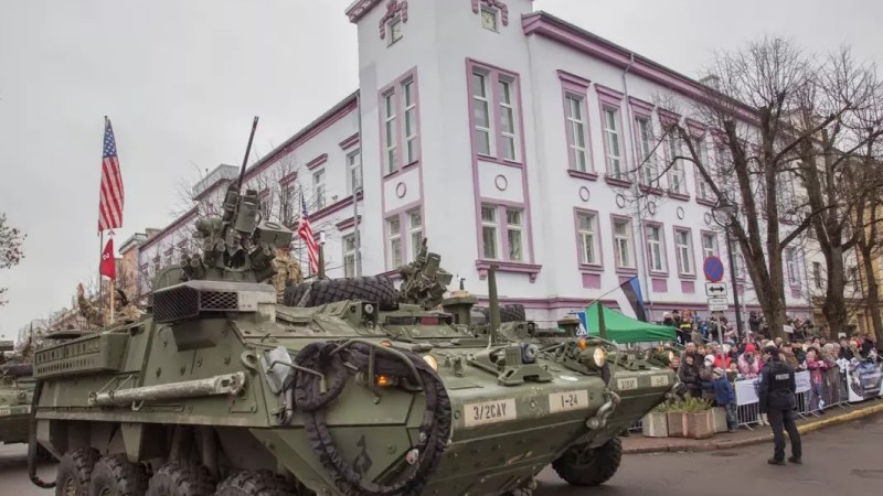 NATO's Military Parades in the Baltic