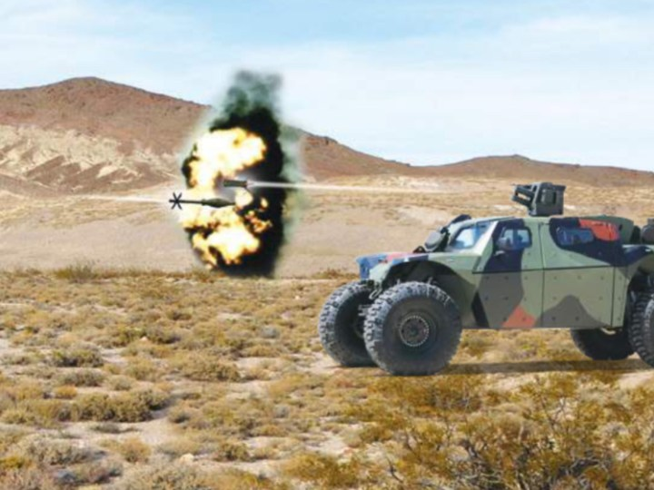 IDF to equip new wheeled fighting vehicles with Elbit Systems' Iron Fist Light Decoupled systems