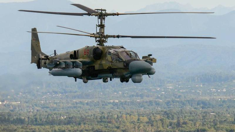 Russia's Ka-52M helicopter to receive new cruise missile with a range of up to 100 km