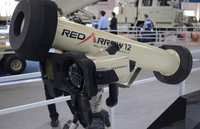 China exports for the first time a third-generation Red Arrow 12 fire-and-forget anti-tank missiles