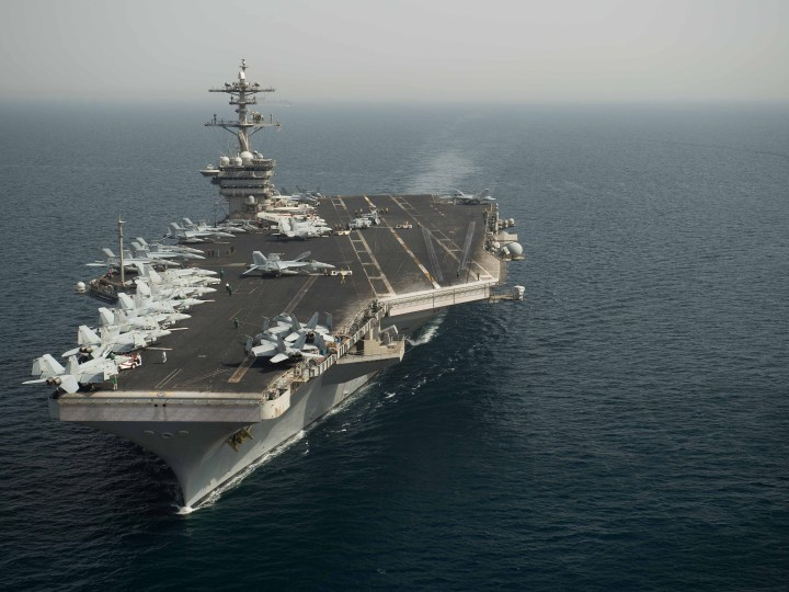 US Navy evacuates COVID19-struck aircraft carrier Roosevelt