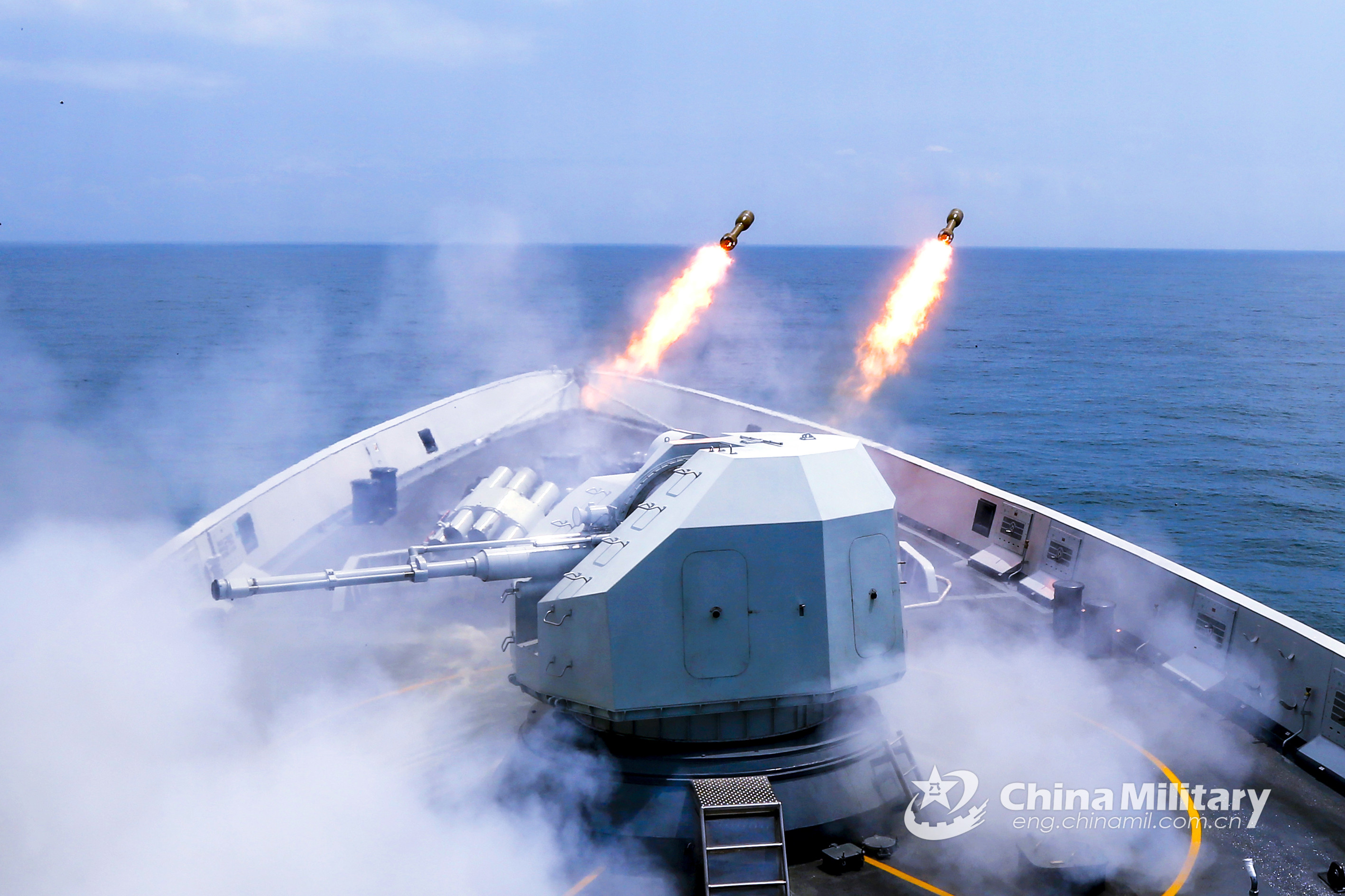 Chinese PLA Navy executes new naval drills in the Pacific as US aircraft carriers suffer from COVID-19 outbreak