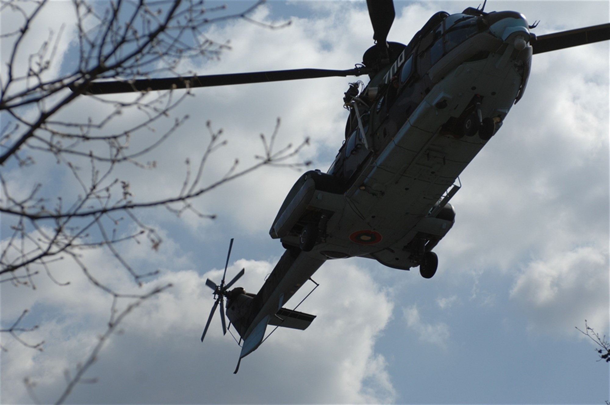 French military helicopter crashed near Tarbes