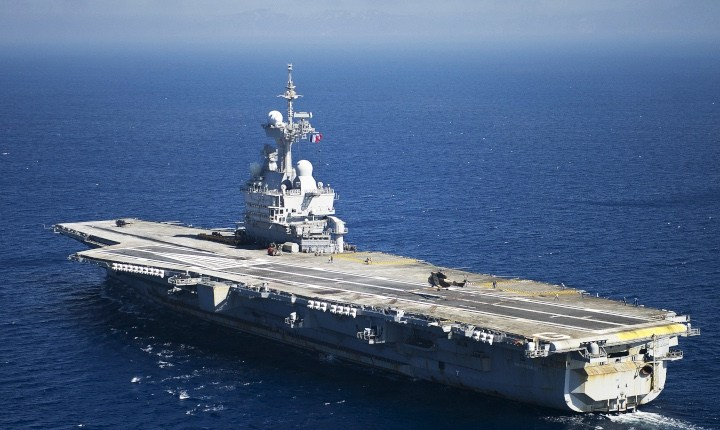 One-third of sailors on board of  French aircraft carrier Charles de Gaulle is positive to COVID-19