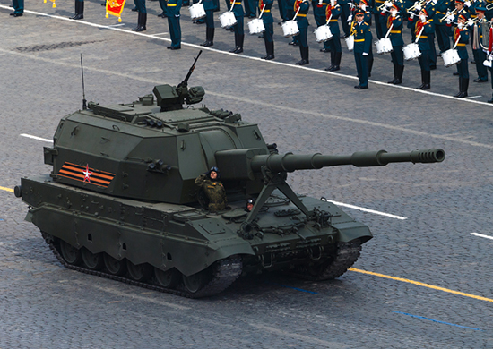 Russian Armed Forces receive first Koalitsiya-SV self-propelled howitzer