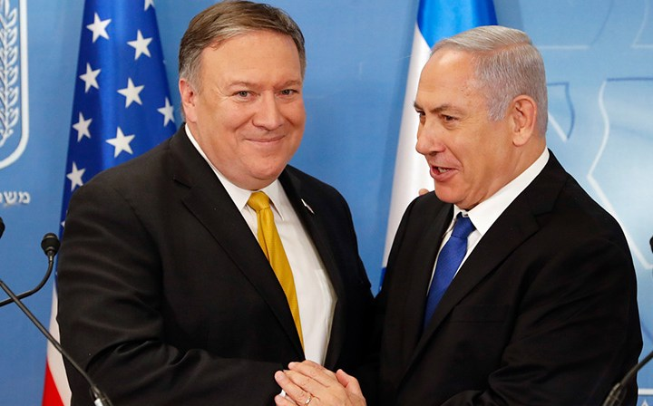 Pompeo to visit Israel to discuss countering measures against Iran