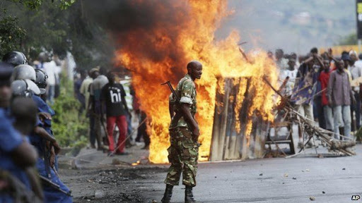 Upcoming Burundi election marred by unrest