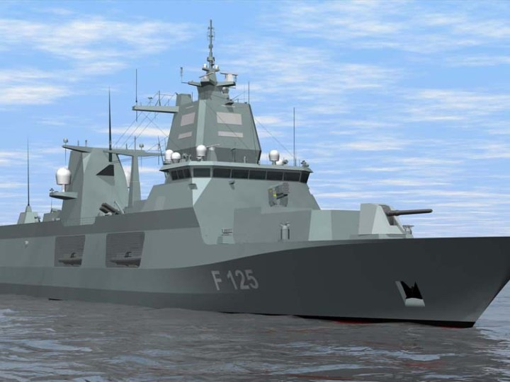 German Navy commissioned second new generation frigate