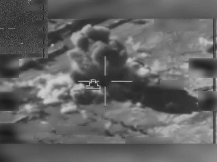 US launches airstrikes against Taliban in Afghanistan