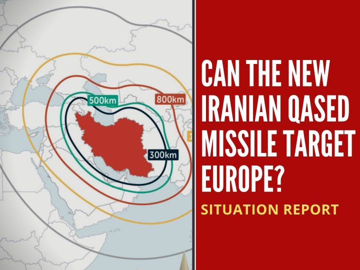 Can the new Iranian Qased missile target Europe?