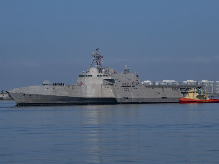 USS Kansas City Joins the US Fleet Despite Coronavirus