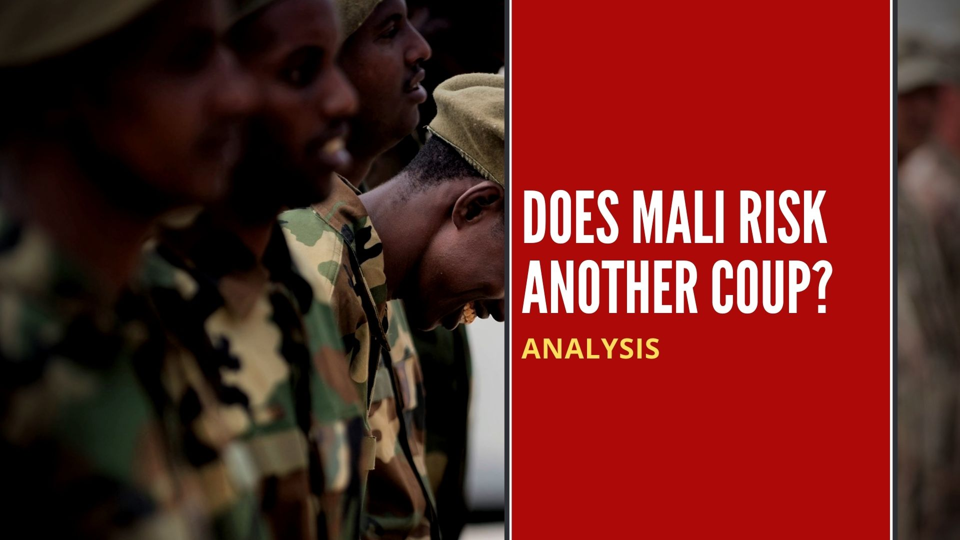 Does Mali risk another coup?