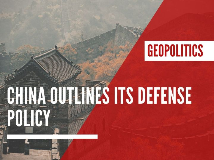 China outlines its defense policy
