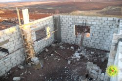 Images from the construction of the Internationalist Commune of Rojava