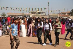 Newroz celebrations in Derik
