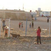 The Newroz refugee camp is hosting ezidis who escape from daesh
