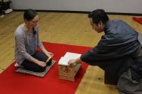 Chant lesson with Udaka Norishige