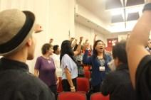 witnesses salute fist