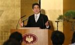Abe le aclara las cosas a Trump