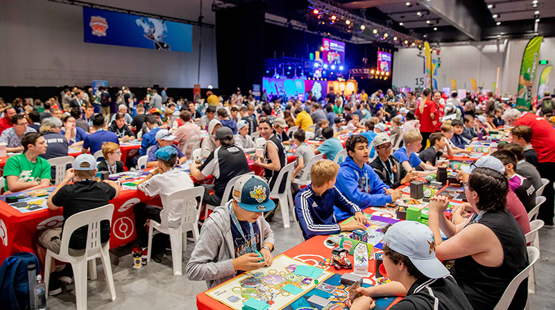 Players compete at POIC 2019