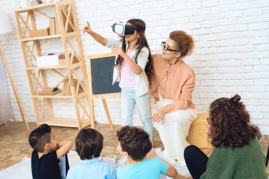 immersive learning in the classroom