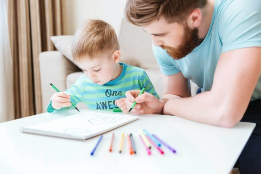 homeschooling dad