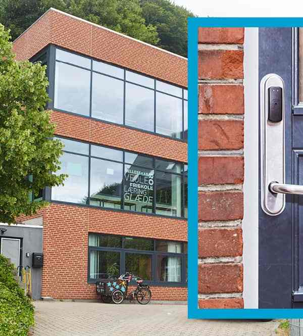 SMARTair wireless access control reduces weekly key management time to five minutes