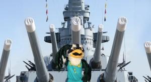 Sammy on Battleship