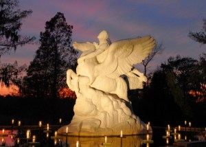 BrookgreenGardens Pegasus sculpture by Laura Gardin Fraser