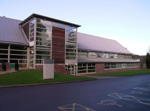 University of Cumbria ,Brampton Road campus, Carlisle.