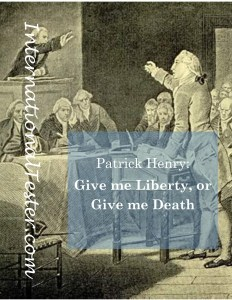 Give me Liberty or give me Death cover