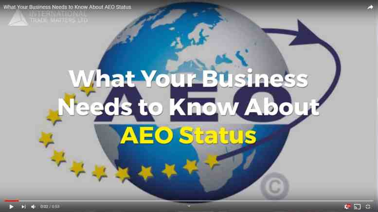 AEO Status: What you need to know
