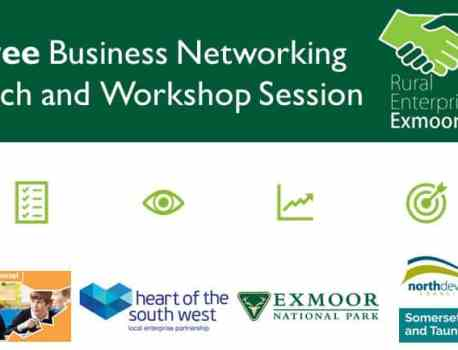 Free Exmoor Business Networking Lunch and Workshop Session