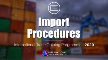 Import Procedures Course