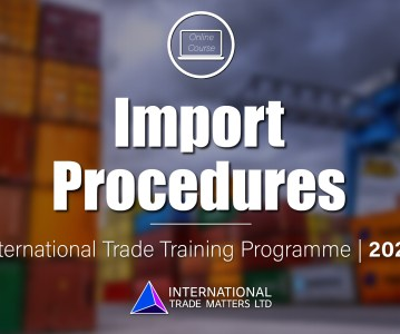 Import Procedures Course