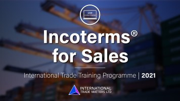 Incoterms® For Sales - An Online Course