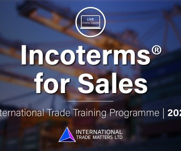 Incoterms® For Sales – An Online Course