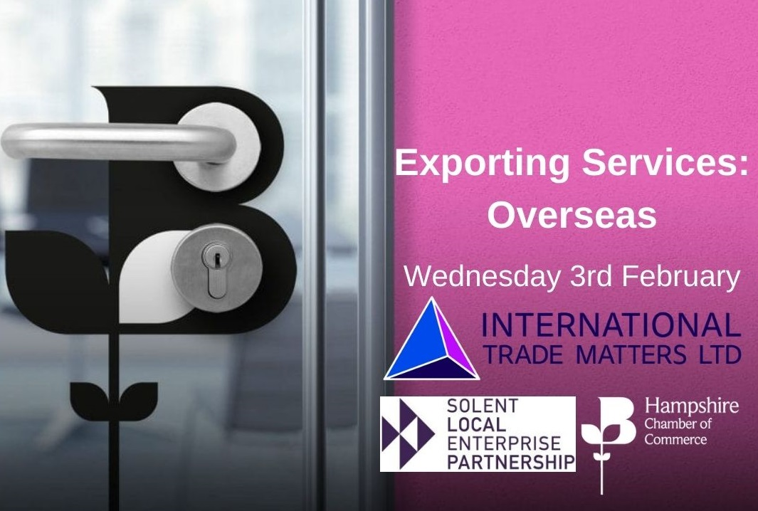 Exporting Services: Overseas - A Free Webinar