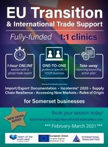 Somerset-eu-transition-clinics-business-advice-international-trade-experts-feb-march_flyer style