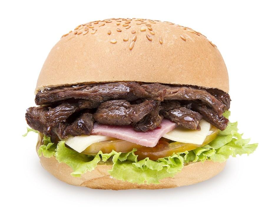 Air Steak Chilli Healthy Burger