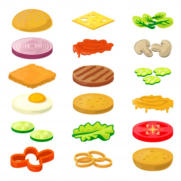 ingredients new healthy burger