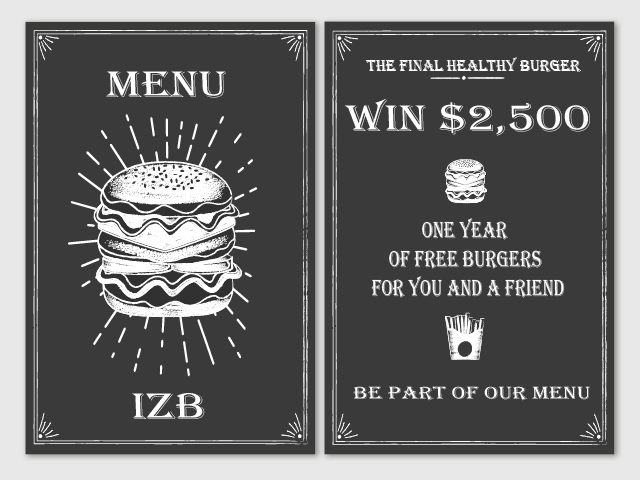 THE FINAL HEALTHY BURGER