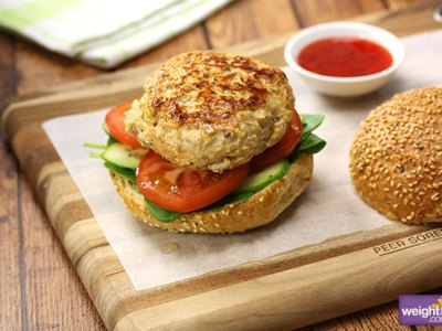 Amazing Thai Chicken Burger recipe