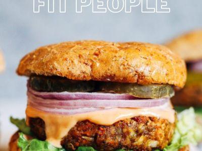 Amazing healthy burgers