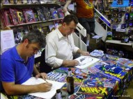 Steve Rude and Roland Boschi at the special Pre Con event on the Thursday